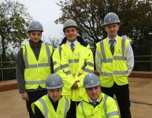 Apprentices lay career foundations with Barratt Homes