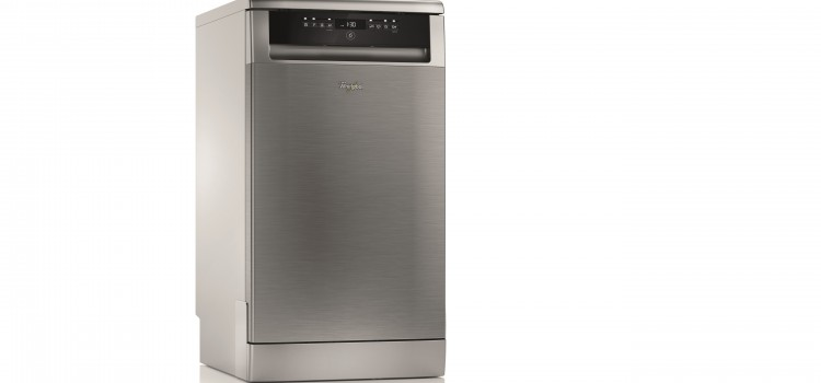 It's all about the space with the new Whirlpool Slimline dishwasher