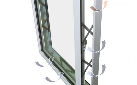 Kawneer launches a new level in ventilation