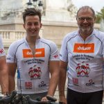 British Furniture manufacturers father and son teams on charity cycle ride