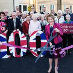 Churchill's 100th development officially opened by Dame Esther Rantzen DBE