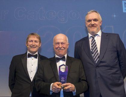 Sixth Supreme award for Miller Homes' Bill Hughes
