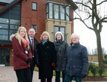 Community group praises new homes