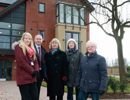 Community group praises new homes