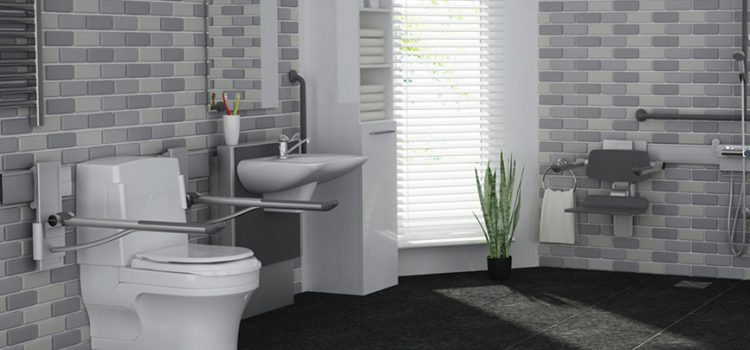 Stylish solutions for bathroom support