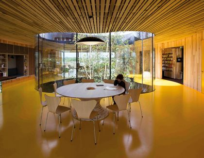 Caring about sustainability means hardwood work