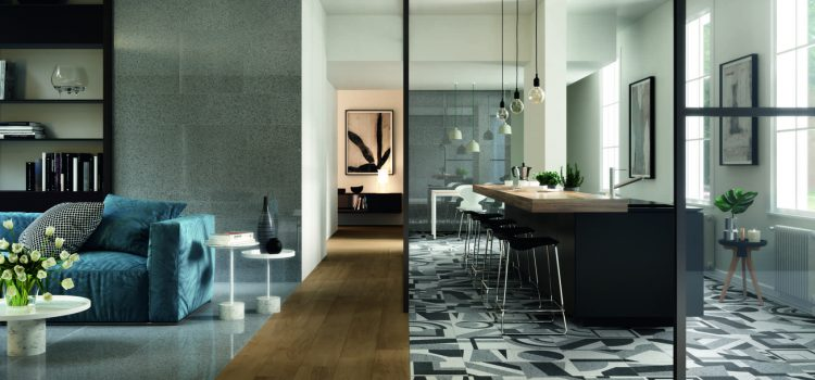 BluePrint showcase their newest porcelain terrazzo collection