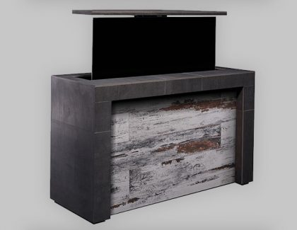 New design-led outdoor TV island collection from Cabinet-Tronix elevates outdoor living just in time for summer