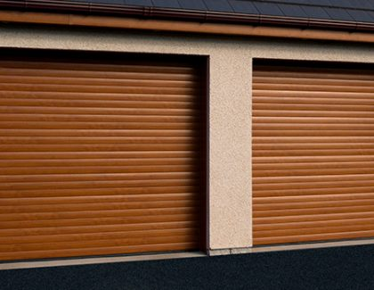 Choosing a roller door with or without a hood cover?