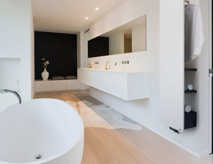 Niva Bath Radiator: Style, Warmth and Practical Storage in the Bathroom