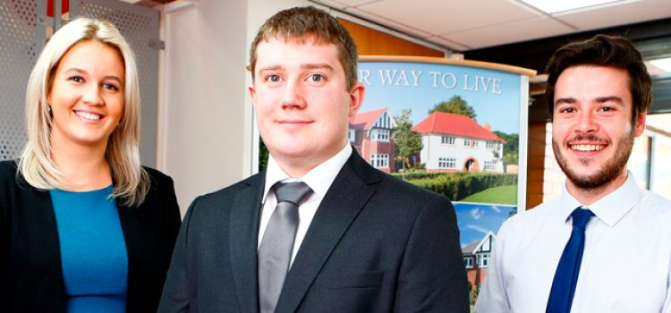 Redrow demonstrates acommitment to training with new Yorkshire Division graduate