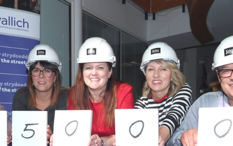 Homebuilder partners with homelessness charity to launch community funding project